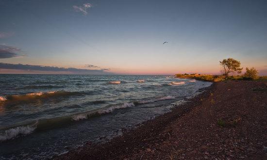 Beautiful Landscapes of Lake Balkhash, Kazakhstan, photo 3