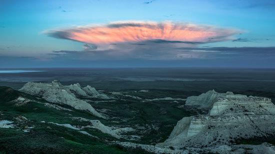 Morning on Aktolagay Plateau, Aktobe Oblast, Kazakhstan, photo 2