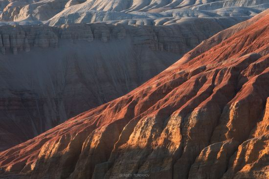 Colorful Landscapes of the Aktau Mountains, Kazakhstan, photo 1