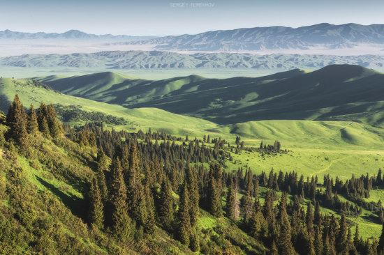 Landscapes of the Tekes River Valley, Kazakhstan, photo 15
