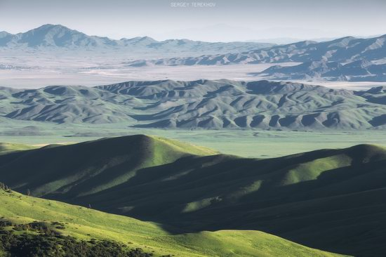 Landscapes of the Tekes River Valley, Kazakhstan, photo 16