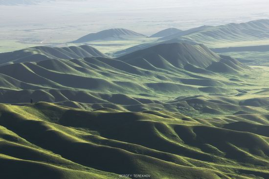 Landscapes of the Tekes River Valley, Kazakhstan, photo 17