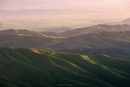 Landscapes of the Tekes River Valley, Kazakhstan, photo 2