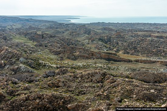 Collapsed Land of Cape Dzhigalgan, Mangystau Region, Kazakhstan, photo 4