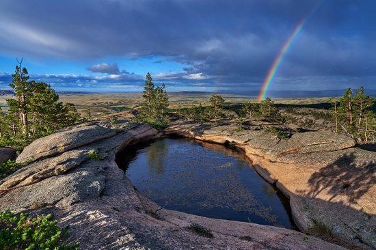 Landscapes of Karkaraly National Park, Kazakhstan, photo 1