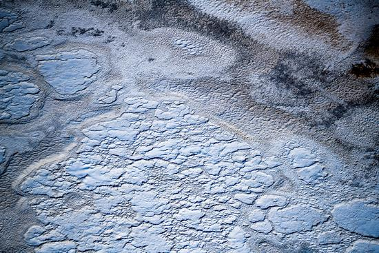 Bizarre saline lakes south of Lake Balkhash, Kazakhstan, photo 7