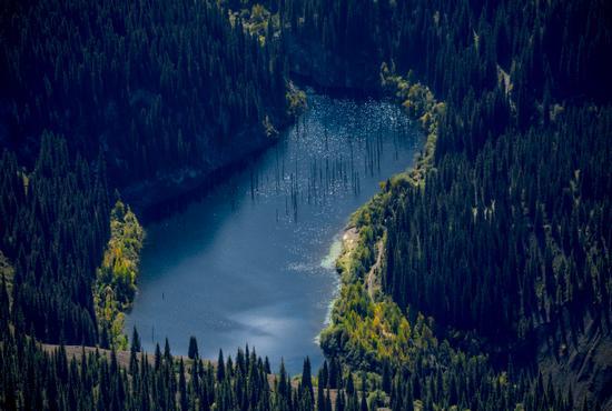 Autumn on Lake Kaindy, Almaty Oblast, Kazakhstan, photo 10