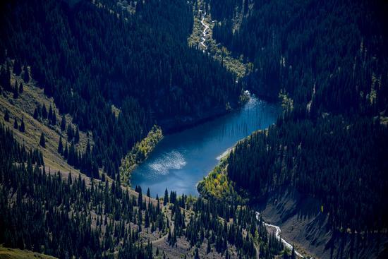 Autumn on Lake Kaindy, Almaty Oblast, Kazakhstan, photo 7