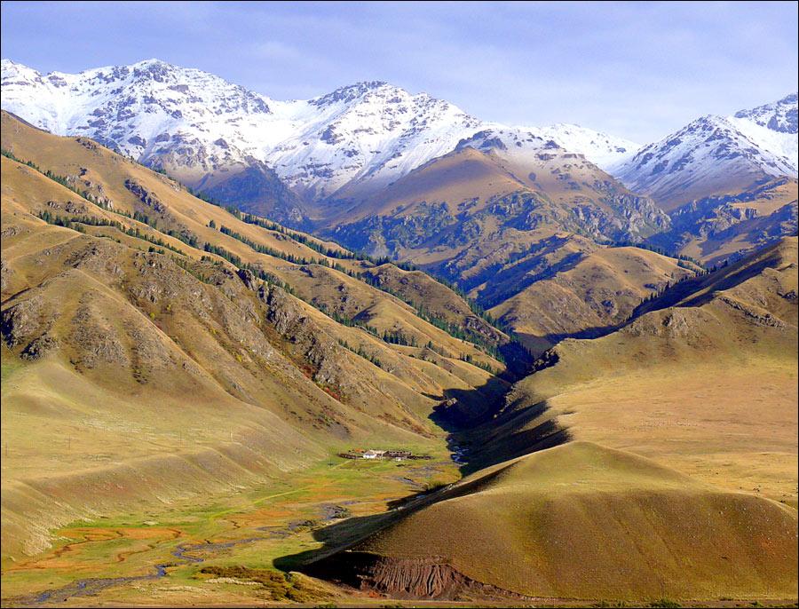 کوه های قزاقستان