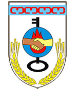 Aksai city coat of arms