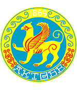 Aktobe city coat of arms