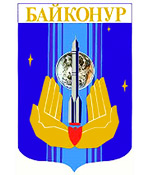 Baikonur city coat of arms