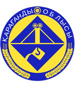 Karaganda oblast coat of arms