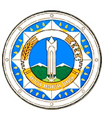 South Kazakhstan oblast coat of arms