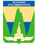 Ust-Kamenogorsk city coat of arms