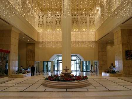 Astana Hotel Okan Intercontinental scenery