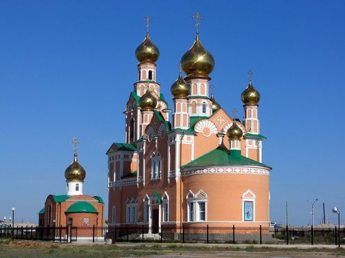 atyrau city facts history photos atyrau city church