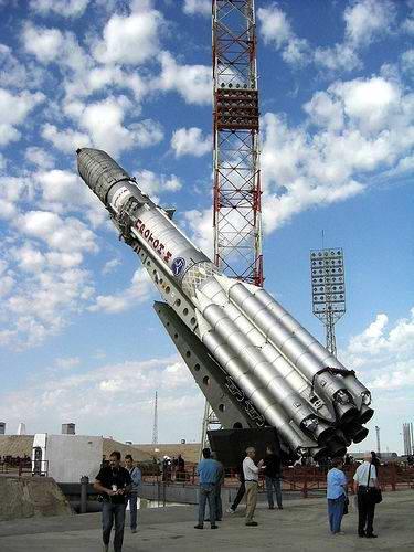 Baikonur cosmodrome, Kazakhstan scenery