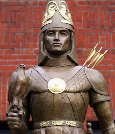 Kazakhstan history - Kazakhstan independence monument