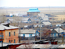 Akkol city, Kazakhstan view