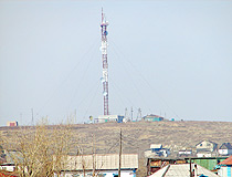 Akkol city TV tower