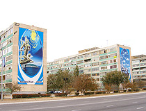 Aktau city apartments houses