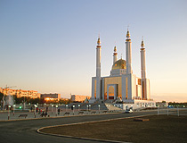 Aktobe city, Kazakhstan mosque