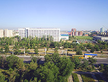 Aktobe city, Kazakhstan view
