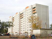 Aktobe city scenery