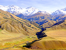 Almaty oblast mountains