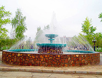 Arkalyk city, Kazakhstan scenery