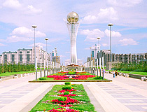 Astana city scenery