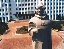 Atyrau city, Kazakhstan monument