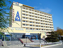 Atyrau city hotel scenery