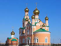 Atyrau city, Kazakhstan church