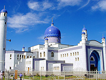 Atyrau city, Kazakhstan mosque