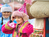 Kazakhstan people scenery