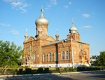 Kostanay oblast church view