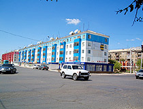 Kzyl-Orda city street view