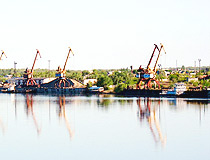 Pavlodar city, Kazakhstan port