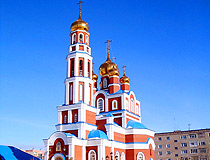 Petropavl city cathedral