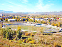 Ridder city, Kazakhstan stadium