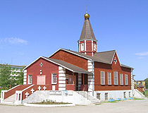 Rudniy city church