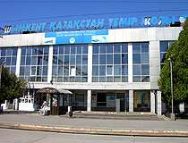 Shymkent city railway station