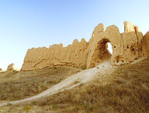 South Kazakhstan ancient walls