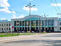 Taraz city railway station
