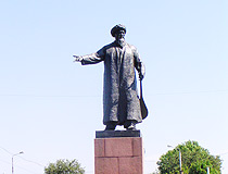 Taraz city monument view