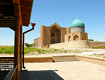 Turkestan city scenery