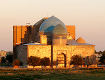 Turkestan city mausoleum