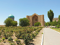 Turkistan city scenery